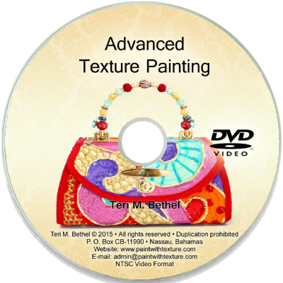 Advanced fabric painting tutorial.