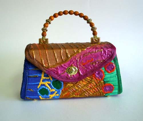 Designer purse making tutorial