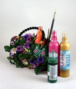 Fabric paint & supplies