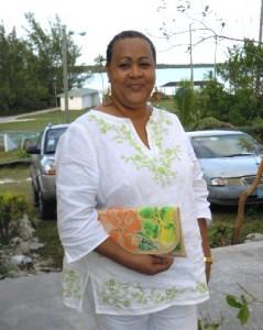 Handicraft training in Eleuthera Bahamas