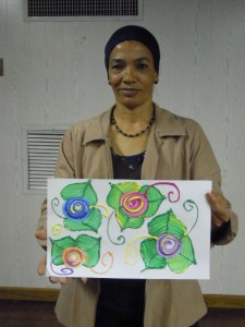 Handicraft Training- paint with texture