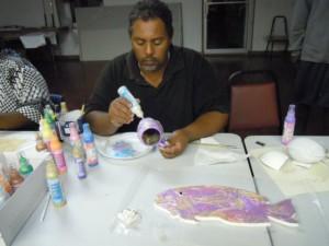 BAIC Handicraft Training with Teri M. Bethel