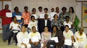 Bahamas Handicraft Training- Instructor Teri M. Bethel