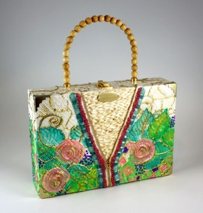 How to paint on cigar box purses