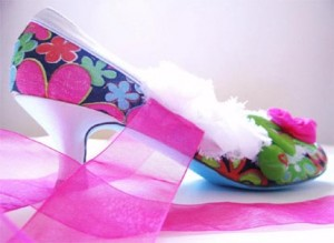 Miranda Marie painted shoes