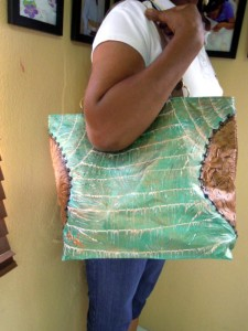 Make a painted tote bag