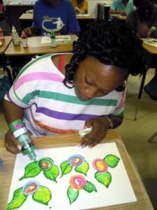 BAIC painting class