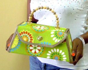 Alayna Evans Structured Purse
