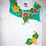 Little Girl's Floral Tee