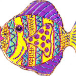 Painting a Tropical Fish