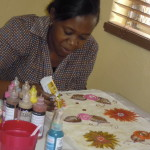 Medical Technician Embraces Fabric Painting Skills