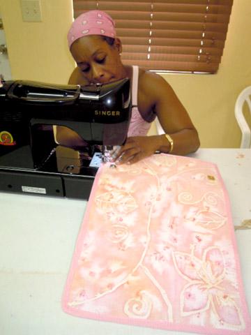 How to sew a clutch purse.