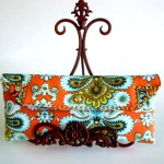 Embellishing a Clutch Purse
