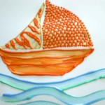 Painting an Abstract Sail Boat
