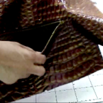 Making a Zippered Pocket