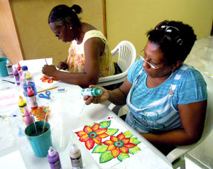 Free Painting Class Lemongrass Designs