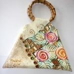 Making a Tote Bag with Bamboo Handles