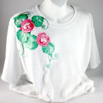 Painting a Simple Floral Tee